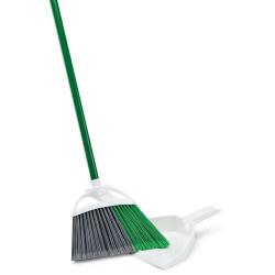 """11"""" Libman ® Precision Angle ® Broom with Dust Pan"""