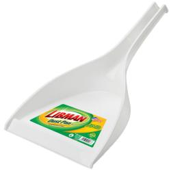 "10"" White Libman ® Deep Well Dust Pan"