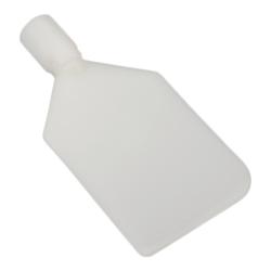 White Vikan ® Flexible PE Paddle Scraper