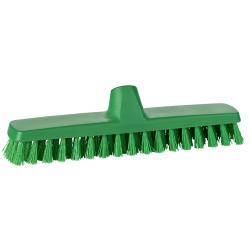 """12"""" ColorCore Green Deck/Wall Stiff Scrub Brush"""