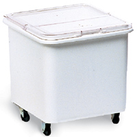 Rubbermaid® Flat Top Ingredient Bin with Sliding Hinged Lid