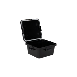 28 Dram Black Polypropylene Mini Child-Resistant Container