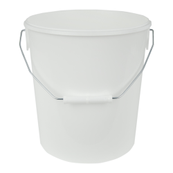 306 oz. White Flex Off Container with Handle (Lid Sold Separately)
