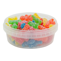 8 oz. Clear Safe Lock Container (Lid Sold Separately)