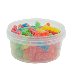 12 oz. Clear Safe Lock Container (Lid Sold Separately)