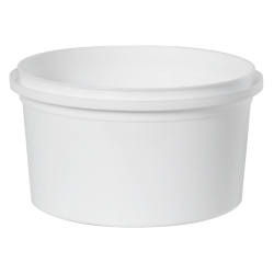 16 oz. White RingLock ® Container (Lid Sold Separately)