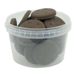 16 oz. Clear Safe Lock Container (Lid Sold Separately)