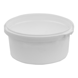 6.1 oz. White RingLock ® Container (Lid Sold Separately)