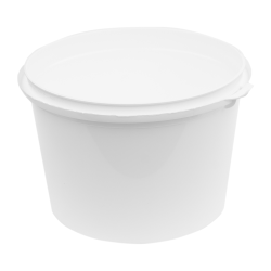 38.5 oz White RingLock ® Container (Lid Sold Separately)