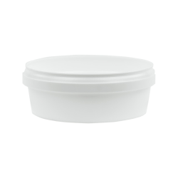 8 oz. White Safe Lock Container (Lid Sold Separately)