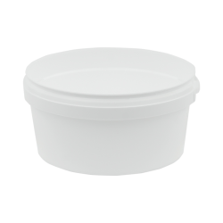 12 oz. White Safe Lock Container (Lid Sold Separately)