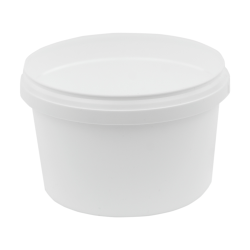 16 oz. White Safe Lock Container (Lid Sold Separately)