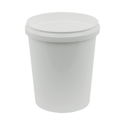 32 oz. White Safe Lock Container (Lid Sold Separately)