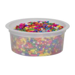 3 oz. Natural Polypropylene Freezer Grade Portion Control Cup