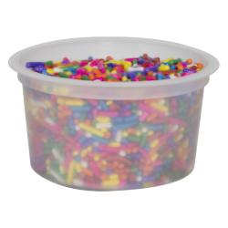 4 oz. Natural Polypropylene Freezer Grade Portion Control Cup