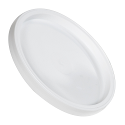 White LLDPE Recessed Lid