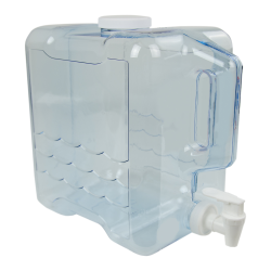 2 Gallon Clear Refillable Beverage Container