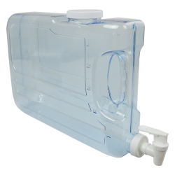 1.25 Gallon Clear Slimline Beverage Container