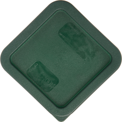 Green Lid for Square 2 Quart & 4 Quart Stor-Plus™ Containers (Container Sold Separately)