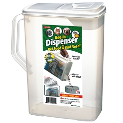 Bag-In Dispensers ® 8 Quart Pet Food Dispenser