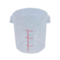 4 Quart Round Food Storage Container (Lid Sold Separately)