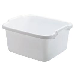 Rubbermaid ® White HDPE Pan - 12-1/4