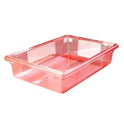 8.5 Gallon Red StorPlus™ Color-Coded Food Storage Box 26