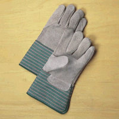 Top Grade Gauntlet Cuff Leather Work Gloves