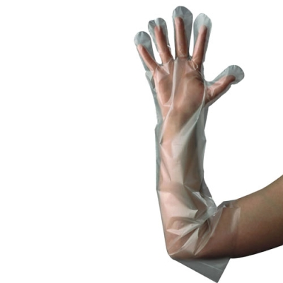 C-Kure® Poly Gloves Elbow Length
