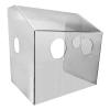 "21"" Polycarbonate Aerosol Containment Shield"