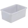 "5 Liter Polypropylene Sterilizing Tray - 12"" L x 8"" W x 5"" H"