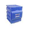 Blue Polyethylene Storage Cabinet 1 Door Counter Top