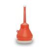 Orange 1 Pint Double Capped Funnel