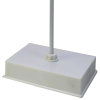 Azlon® Weighted Burette Retort Stand with Centered Hole