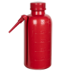 500mL LDPE Unitary Red Wash Bottle