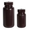 1 oz./30mL Nalgene™ Amber Wide Mouth Economy Bottles with 28mm Caps - Case of 72