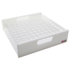 Acrylic Refrigerator/Freezer Rack - 100 place