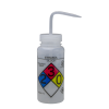 500mL Ethanol GHS Labeled Right-to-Know, Vented Wash Bottle