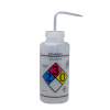 1000mL Ethanol GHS Labeled Right-to-Know, Vented Wash Bottle