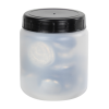 70mL Kartell Round HDPE Jars with Screw Caps