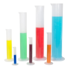 Polypropylene Graduated Cylinder Set