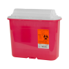 5.4 Quart Red Stackable Sharps Container