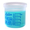 10mL Azlon® Polypropylene Square Ratio Beakers