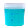 400mL Azlon® Polypropylene Square Ratio Beakers