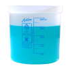 1000mL Azlon® Polypropylene Square Ratio Beakers