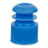 13mm Blue Flanged Cap
