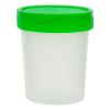 4 oz./120mL Sterile Specimen Container with Green Cap