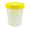 32 oz./1000mL Large Specimen Container with Yellow Screw Cap