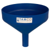 "10"" Top Diameter Blue Tamco® Funnel with 1-1/2"" OD Spout"