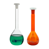 10mL Clear Volumetric Flask with 10/19 Stopper